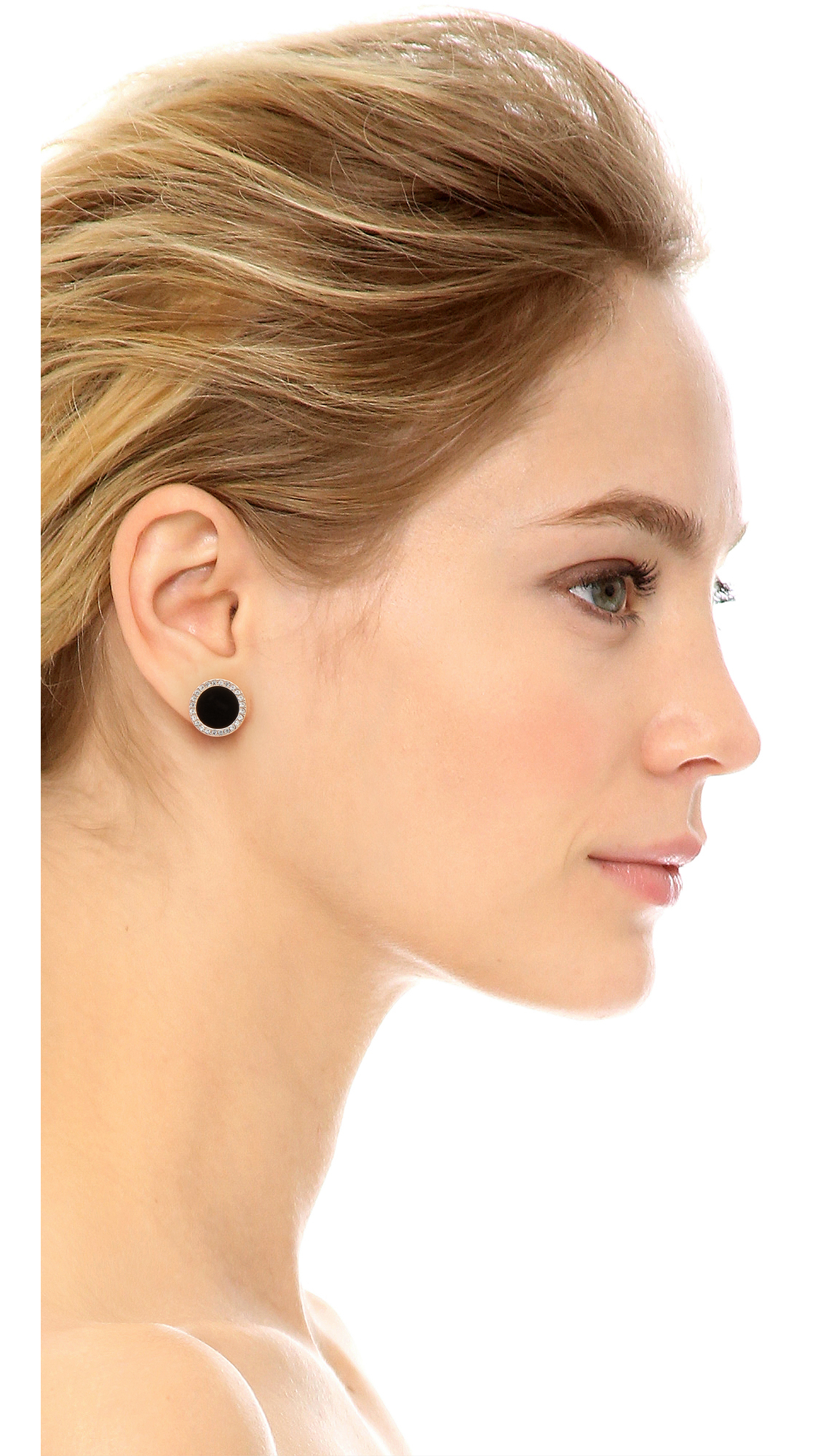 earrings earring lobe drooping about your are on all stud ear the pavement droop toward pointing