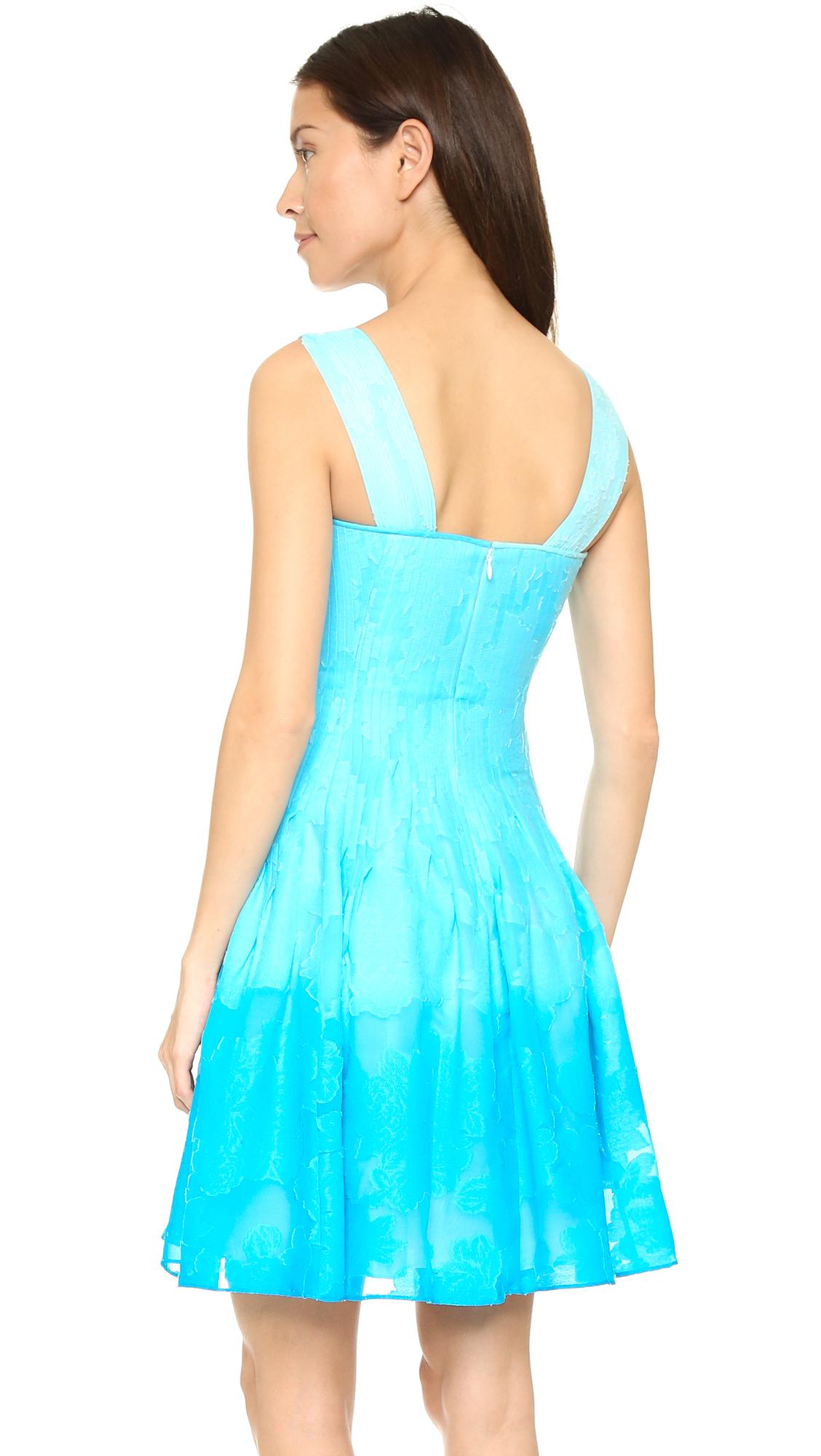Lyst - Diane Von Furstenberg Lesly Dress - Sky Ombre in Blue