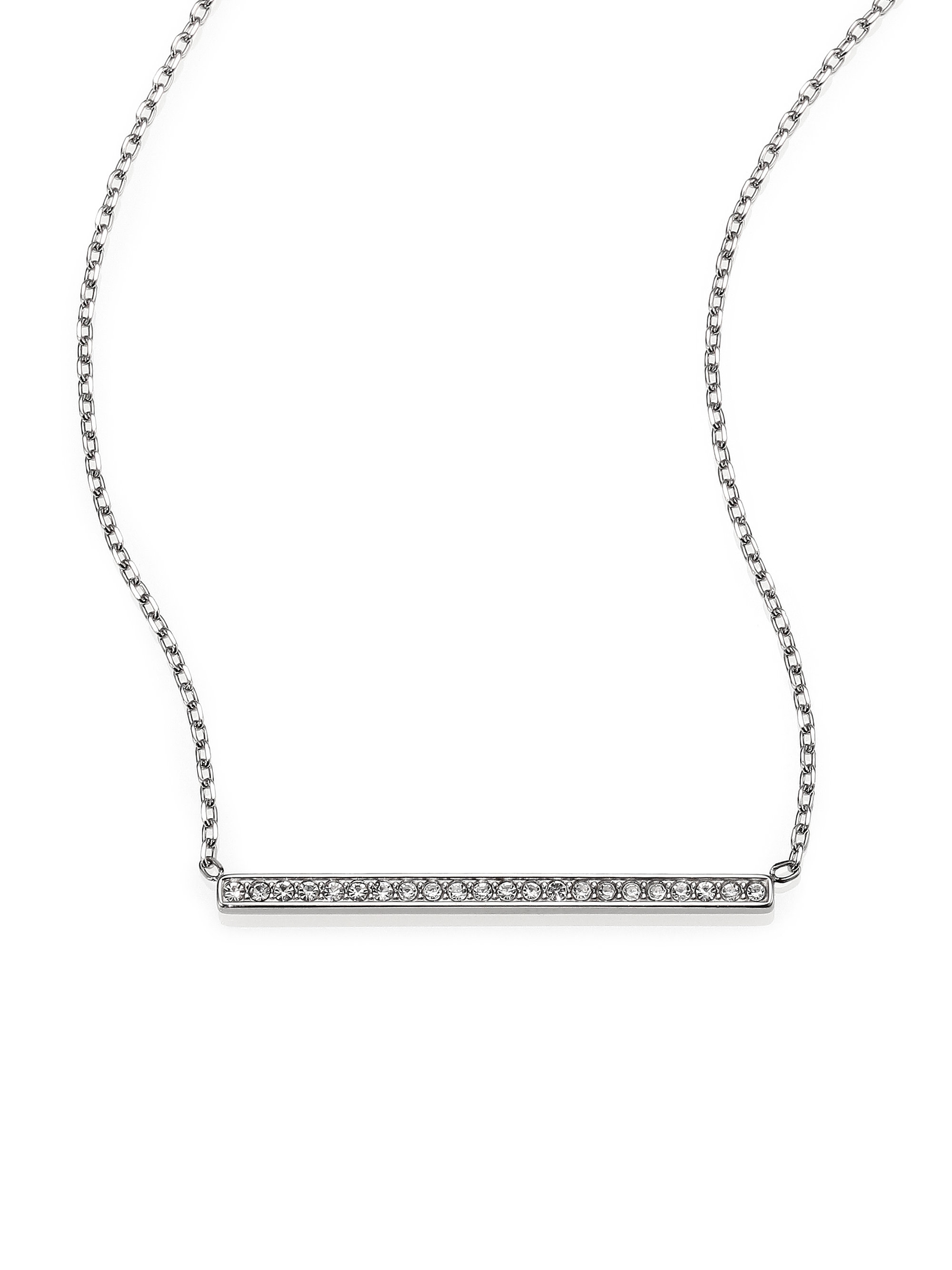 pendant bar necklace essential product scottish silver