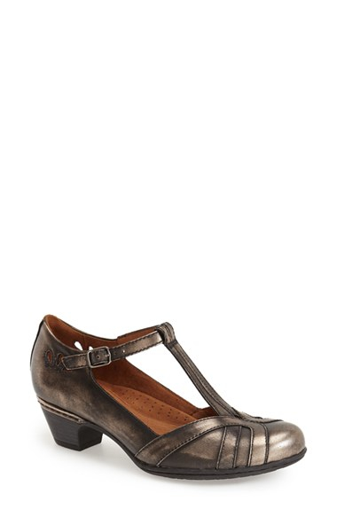 Bronze Low Hill Women Leather Shoes