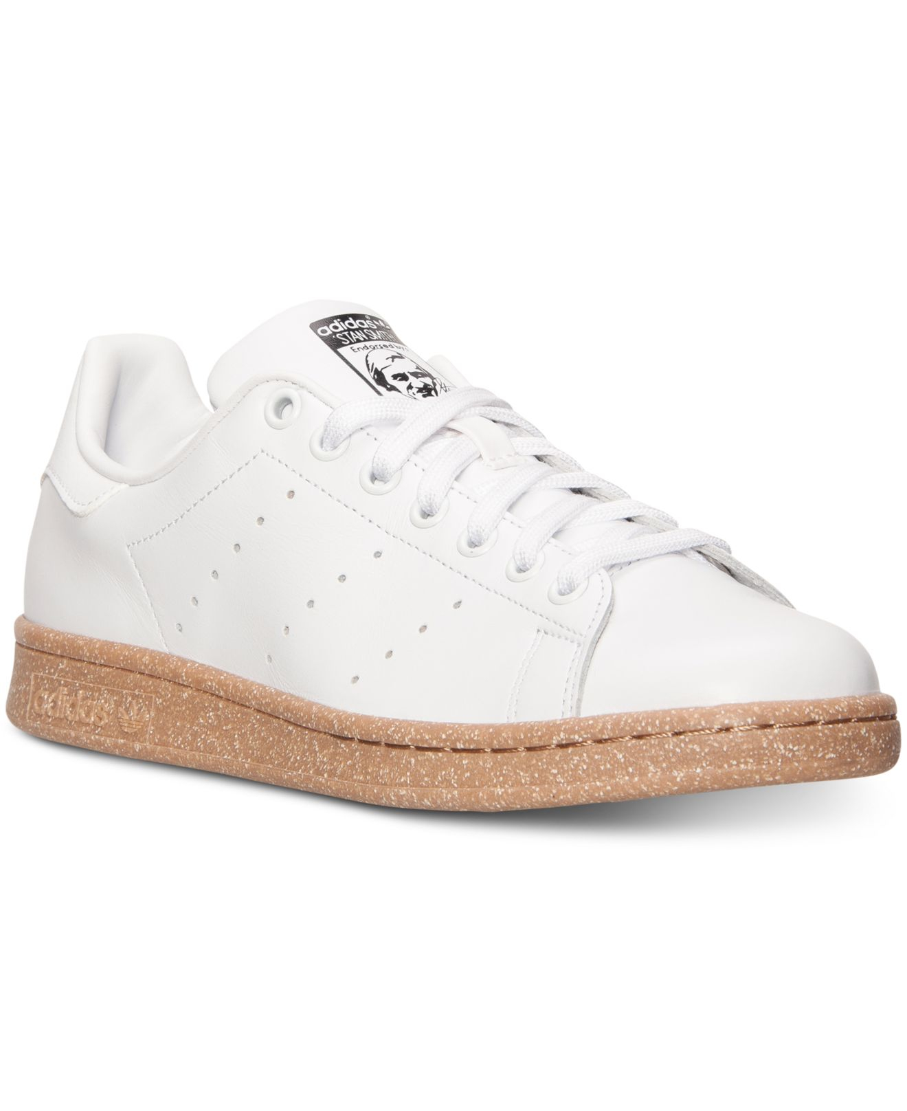 lyst adidas men 39 s originals stan smith casual sneakers. Black Bedroom Furniture Sets. Home Design Ideas