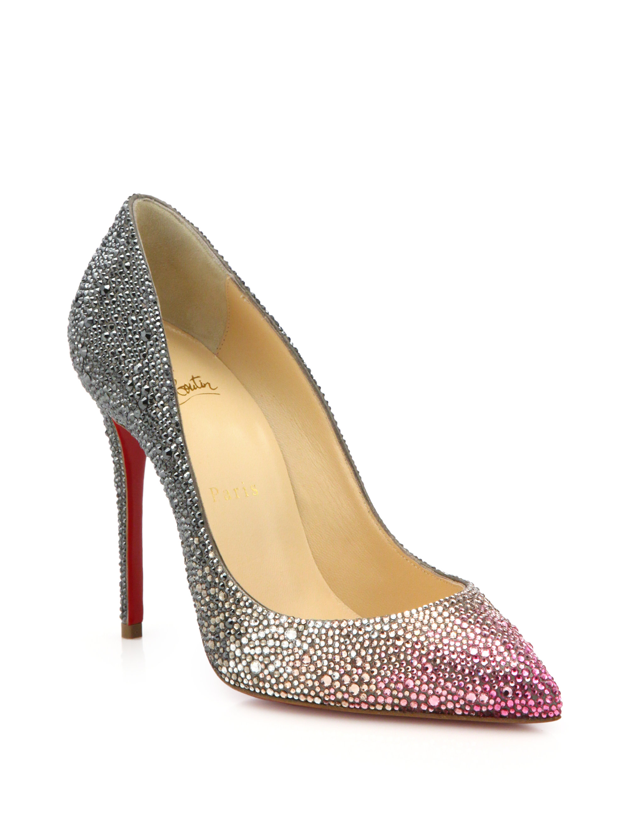82901ef02d Previously sold at: Saks Fifth Avenue   Women\u0027s Christian Louboutin  Pigalle .
