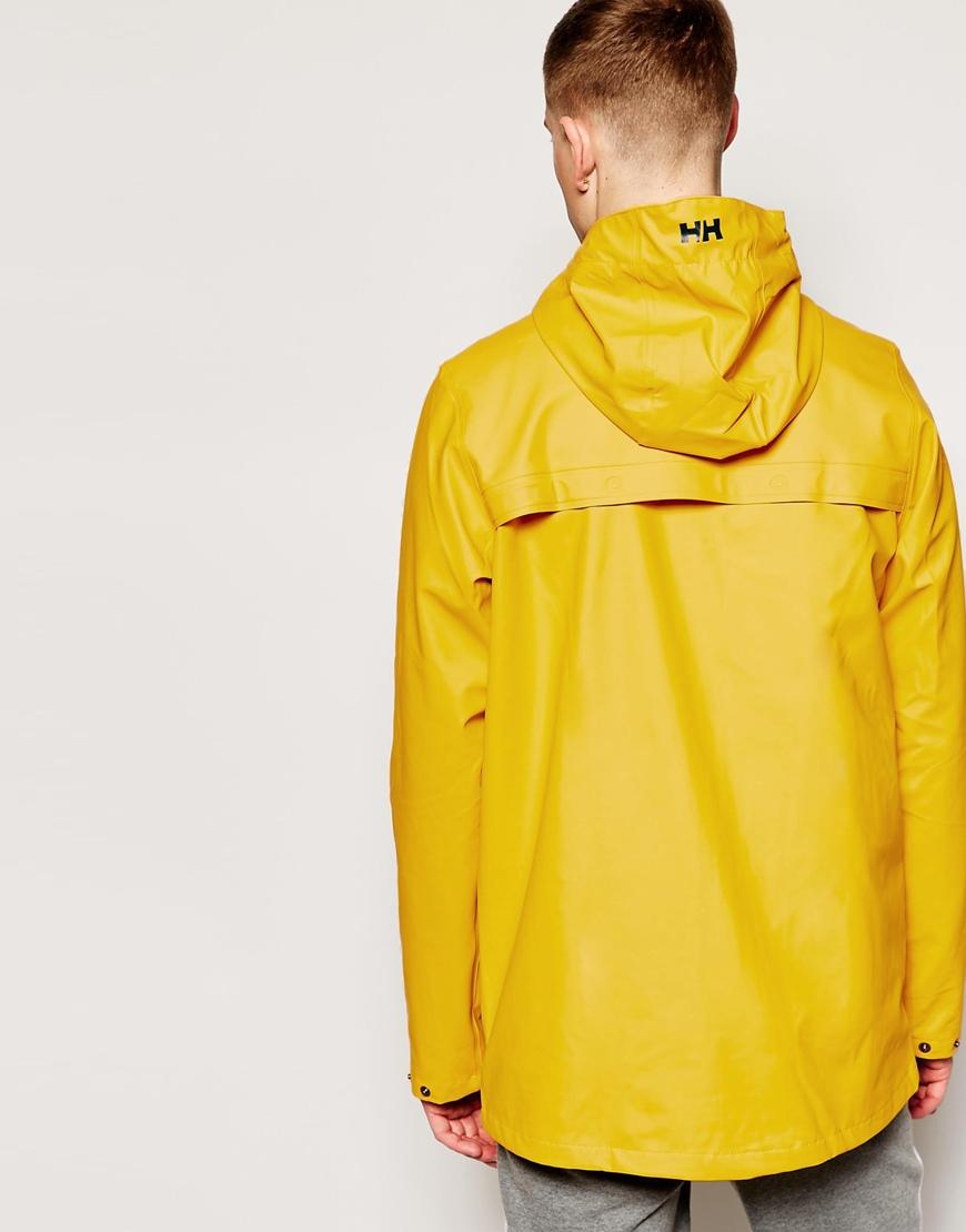 41beb52e Helly Hansen Lerwick Rain Jacket in Yellow for Men - Lyst