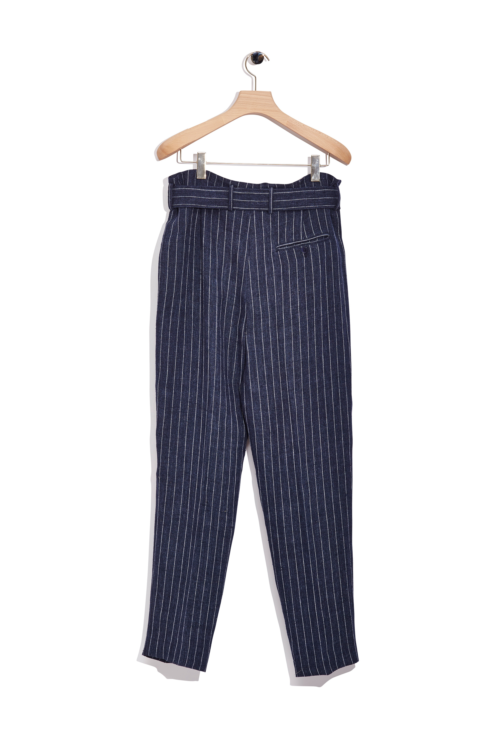 3.1 phillip lim Belted Pleated Trouser in Blue for Men