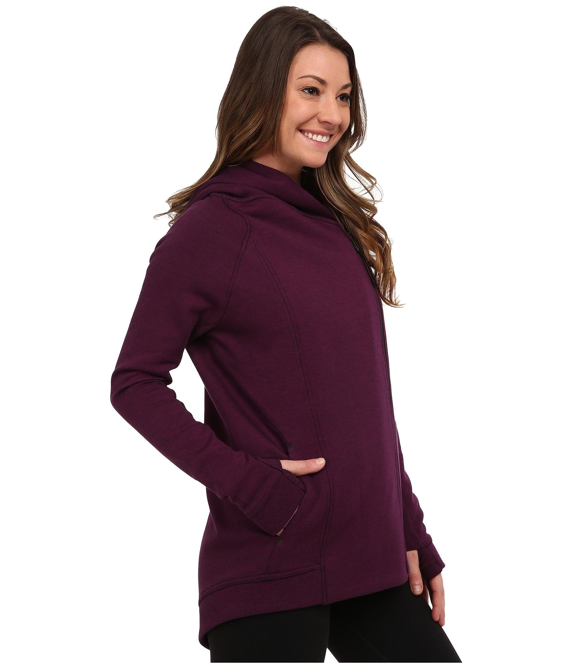 b6311f6782b4 Lyst - Nike Tech Fleece Cape in Purple