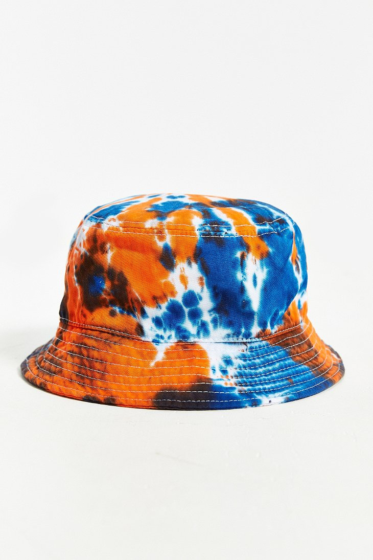 f50e19c3dcdbb1 Milkcrate Athletics Tie-Dye Bucket Hat in Red for Men - Lyst