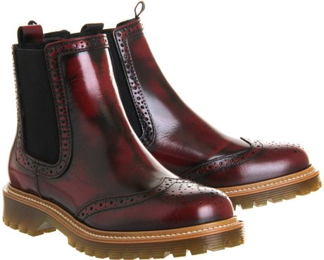 Brogue Boots Office Brogue Chelsea Boots in