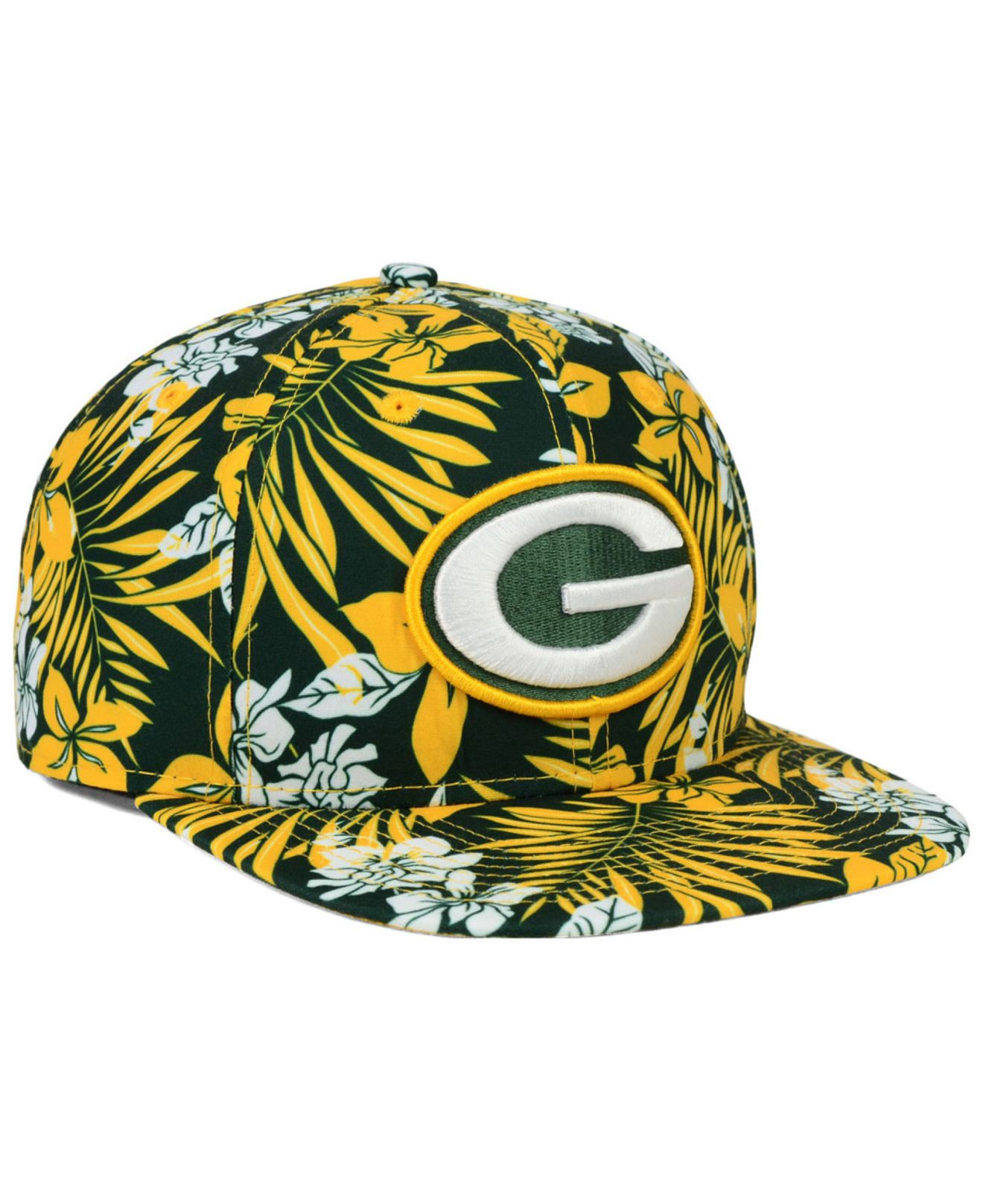 look for 5a41f 0db51 ... low cost lyst ktz green bay packers wowie 9fifty snapback cap in green  for men c2b9a