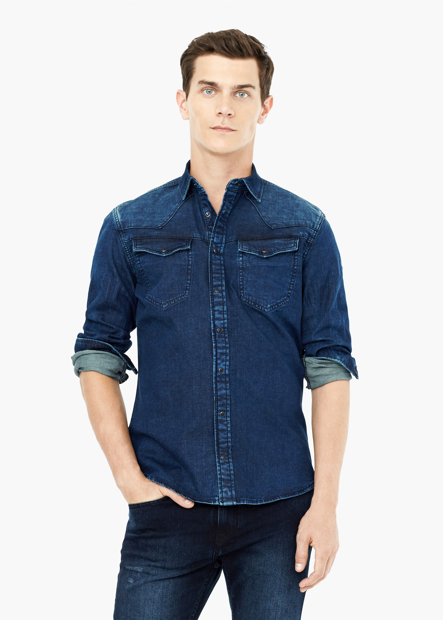 Shop men's denim shirts at MR PORTER, the men's style destination. Discover our selection of over designers to find your perfect look.