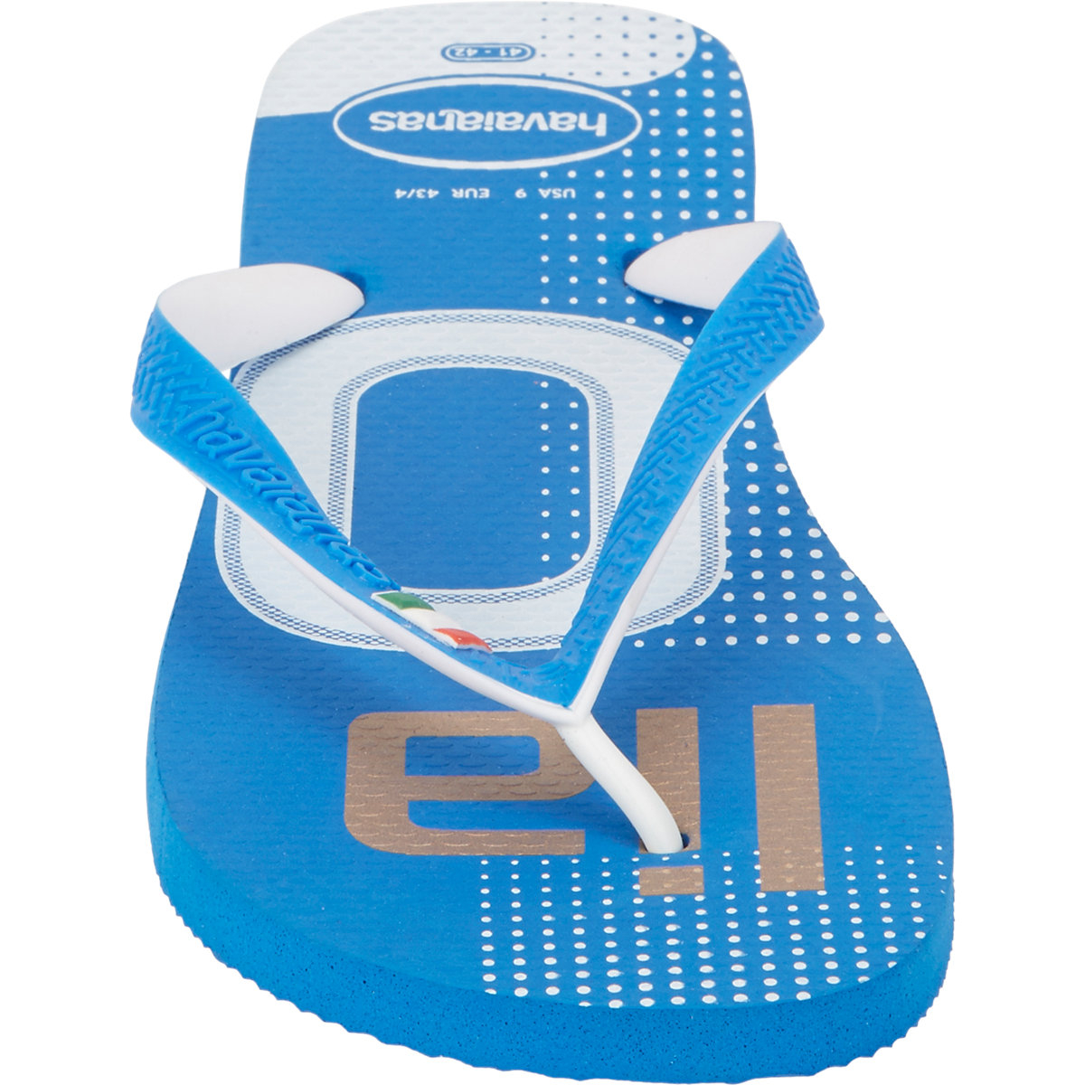 3df5ef49e6bf45 Lyst - Havaianas Italy Flip Flops in Blue for Men