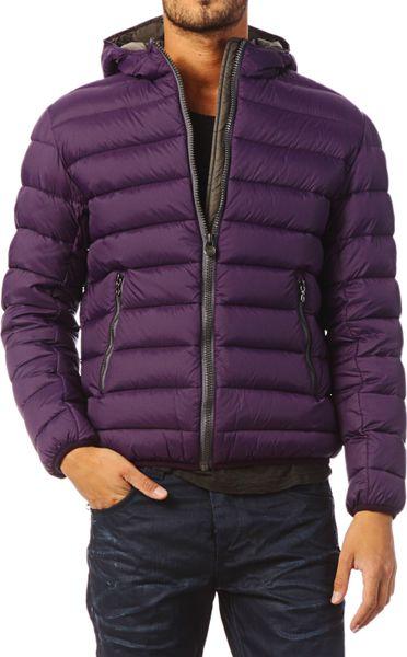 Colmar Originals Quilted Jacket In Purple For Men Lyst