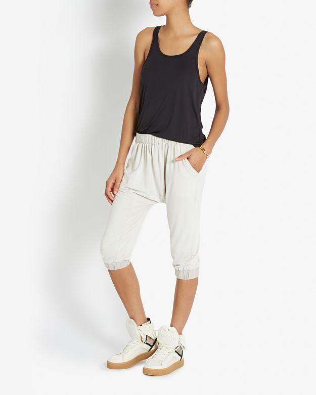 Adidas da stella mccartney maglie alte scarpe bianche lyst