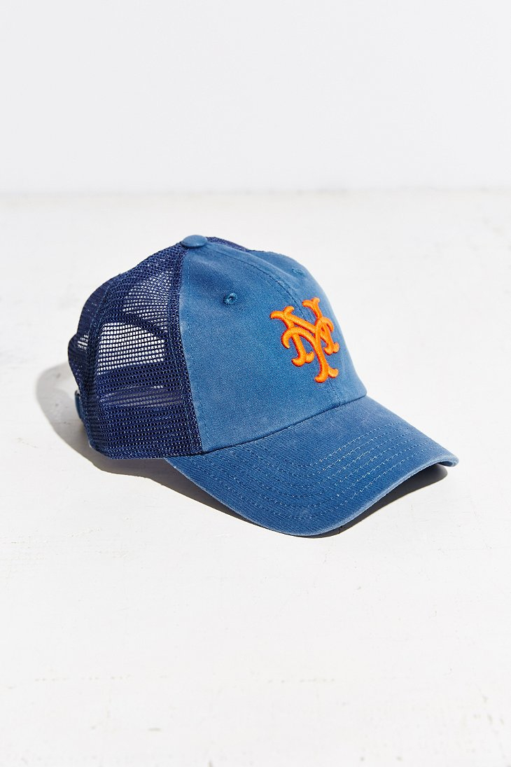 732080accd6 Lyst - American Needle Mlb Raglan Mesh Baseball Hat in Blue