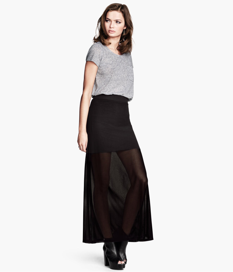 Maxi Jersey skirt uk pictures