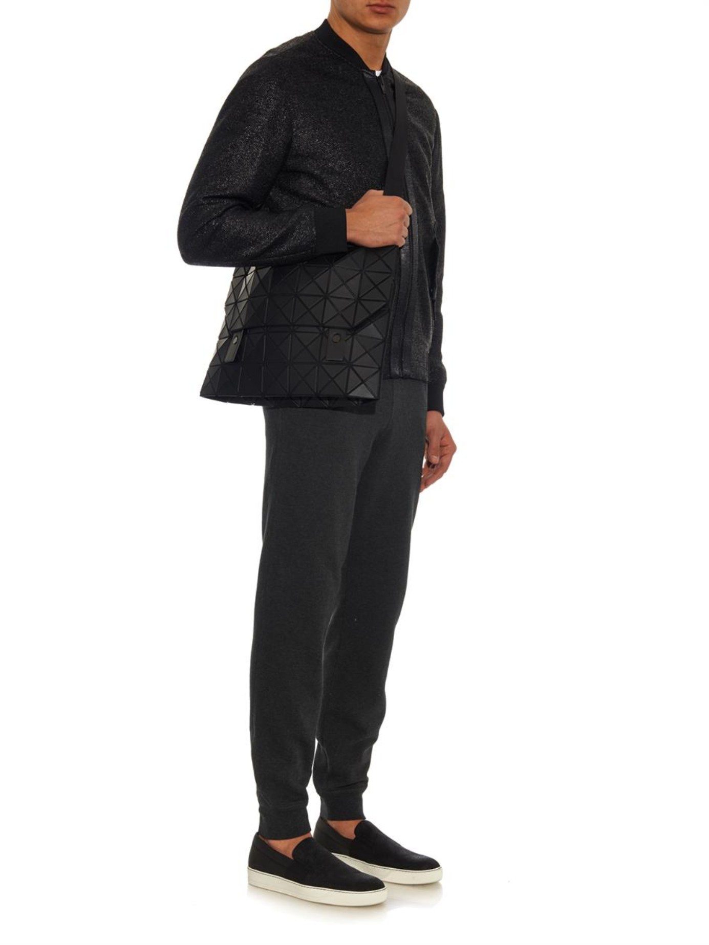 Bao Bao Issey Miyake Prism Messenger Bag In Black For Men
