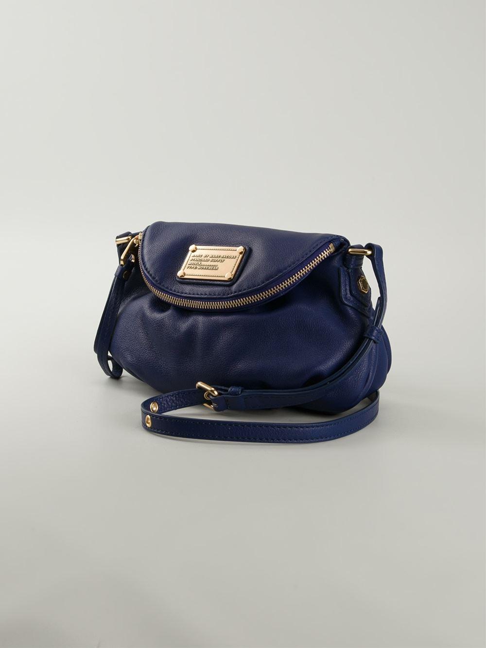 20ecaaff546 Marc By Marc Jacobs 'Classic Q Mini Natasha' Crossbody Bag in Blue ...