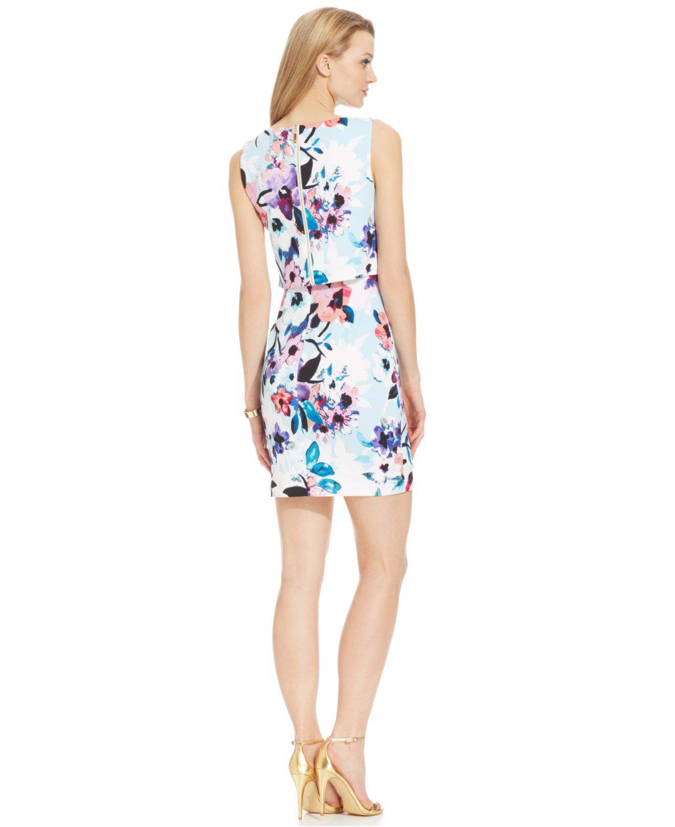 Ivanka trump Floral-pr... Ivanka Trump Dresses