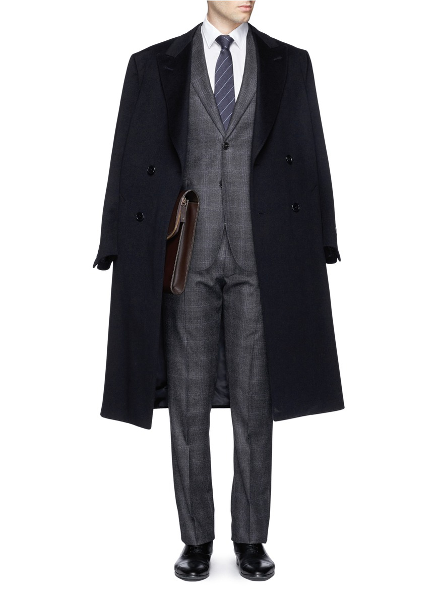 Canali Double Breasted Suit Hardon Clothes
