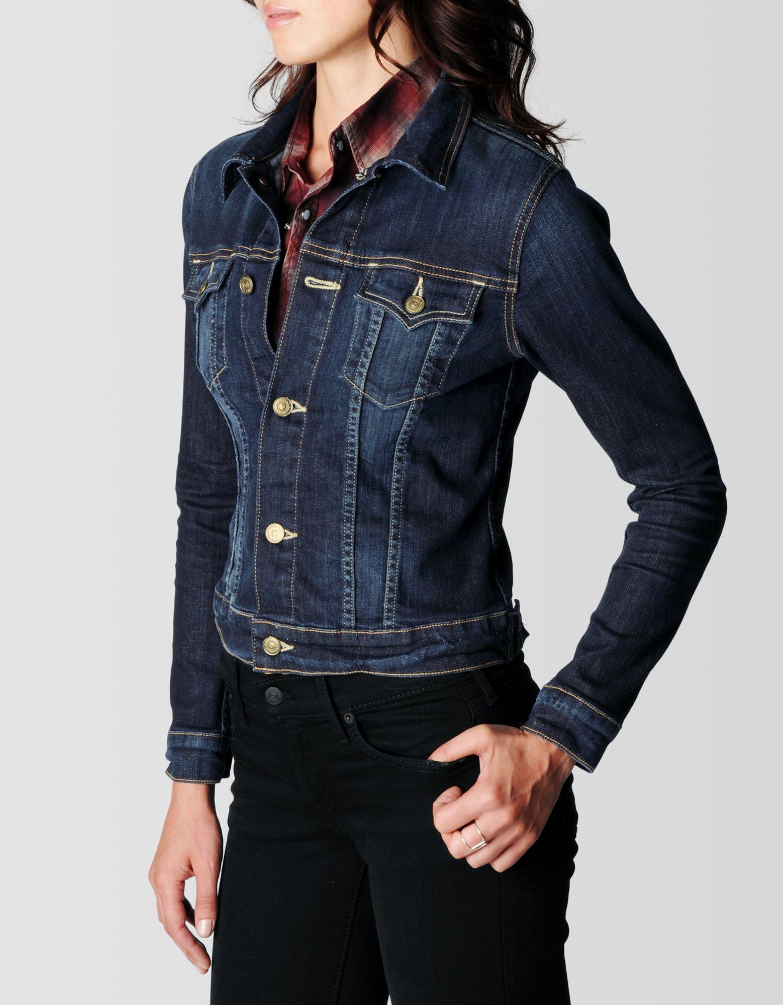 True Religion Jean Jacket For Women