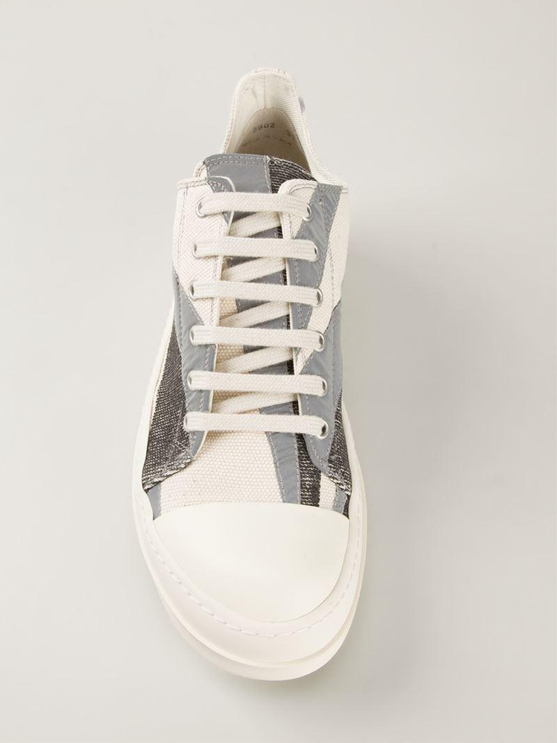 Striped low sneaker Rick Owens amd3s