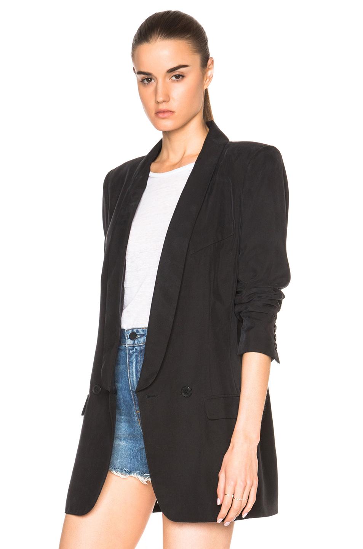 Smythe oversized blazer in black lyst for Smythe designer