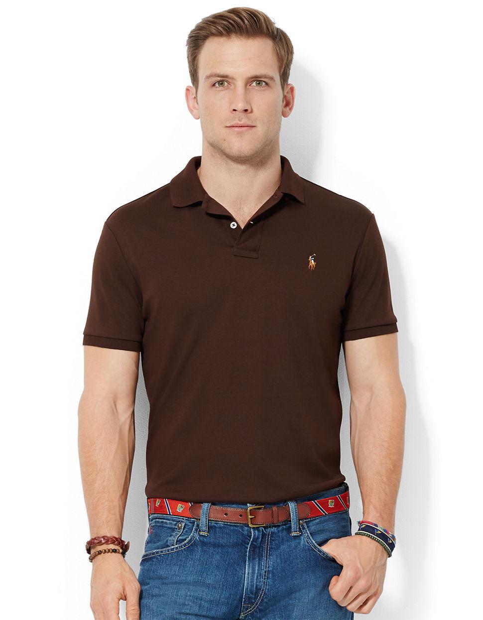 ... polo shirt ralph lauren brown ...