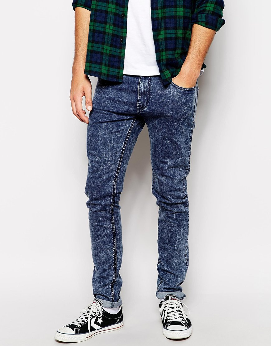 Skinny Jeans In Blue - Blue Criminal Damage wJYwmIKJJz