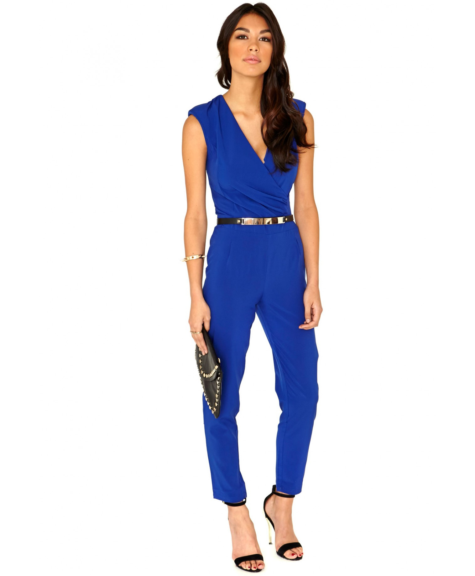 Cobalt Blue Jumpsuit Photo Album - Reikian