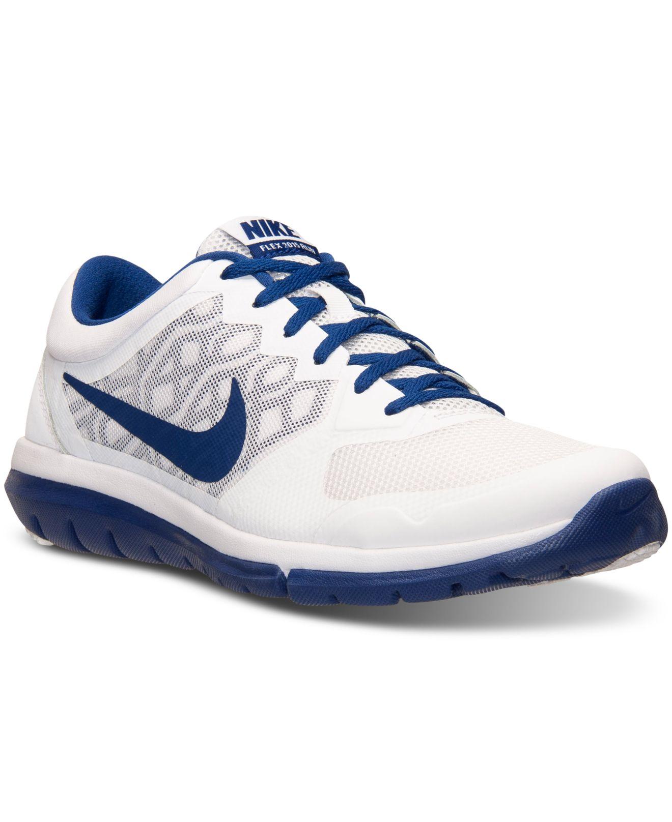 Lyst Nike Men S Flex Run 2015 Running Sneakers From