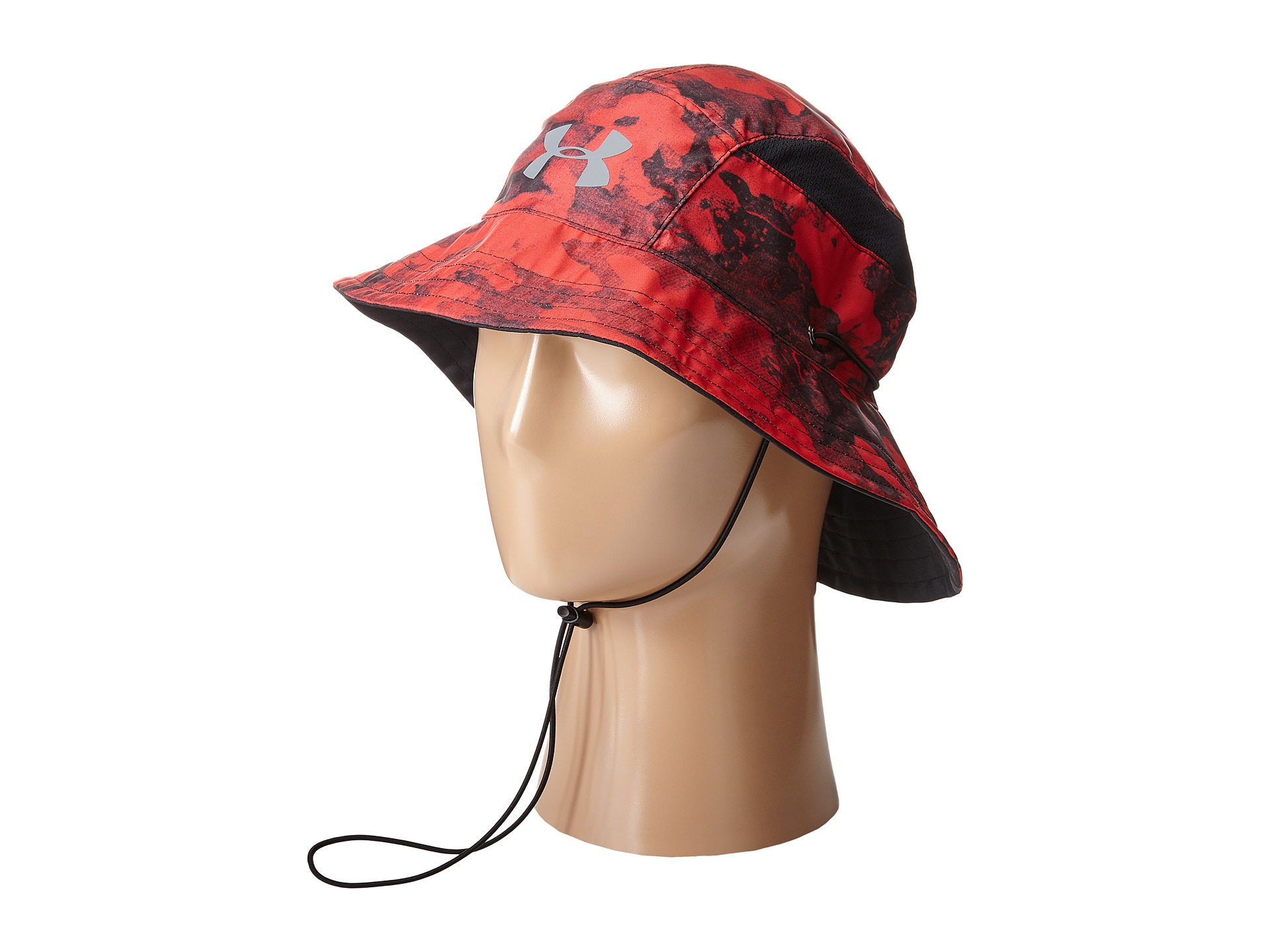 c00c06f47cb Lyst - Under Armour Ua Switchback Training Bucket Hat in Red for Men