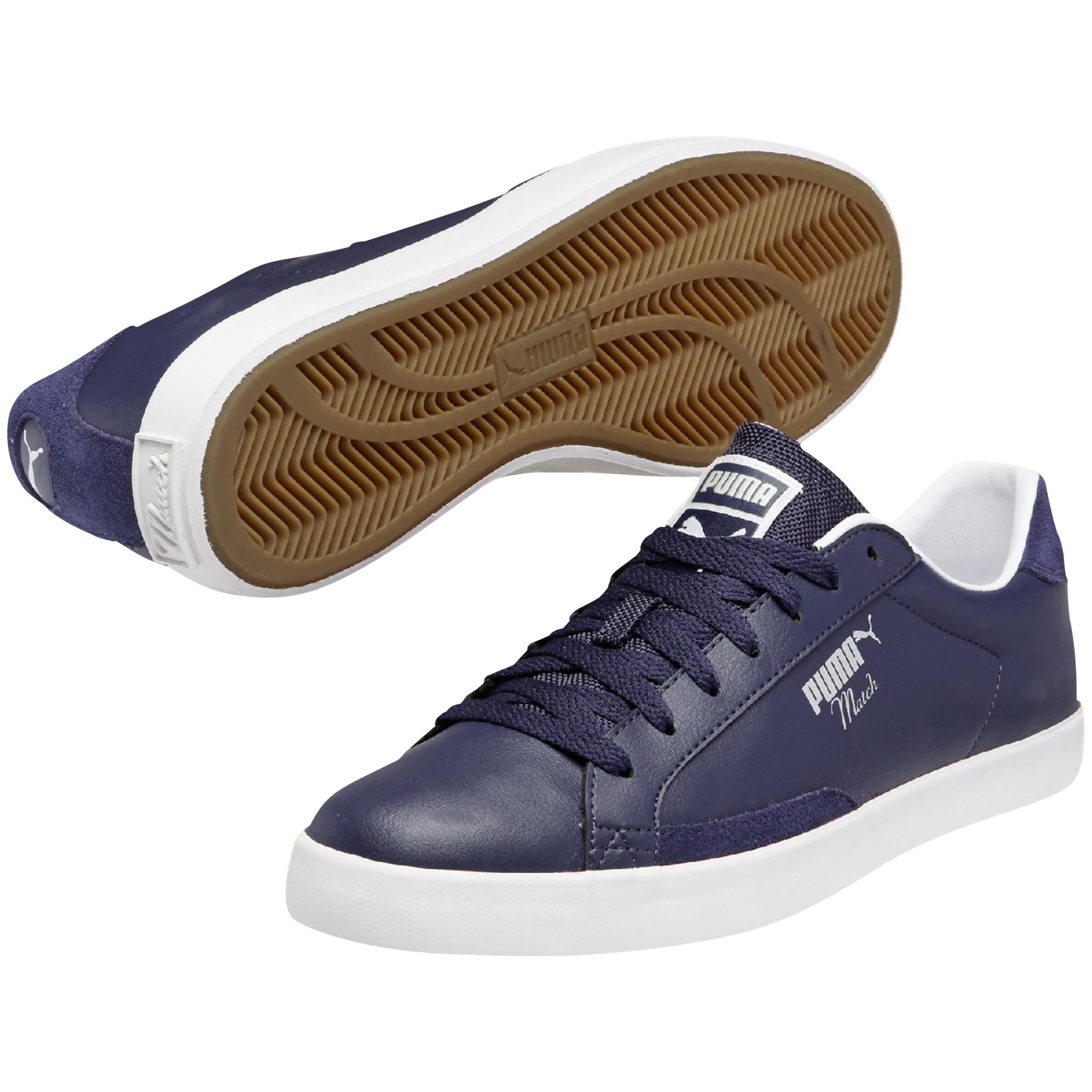 262833478a9730 PUMA Match Vulc Modern Trainers in Blue for Men - Lyst