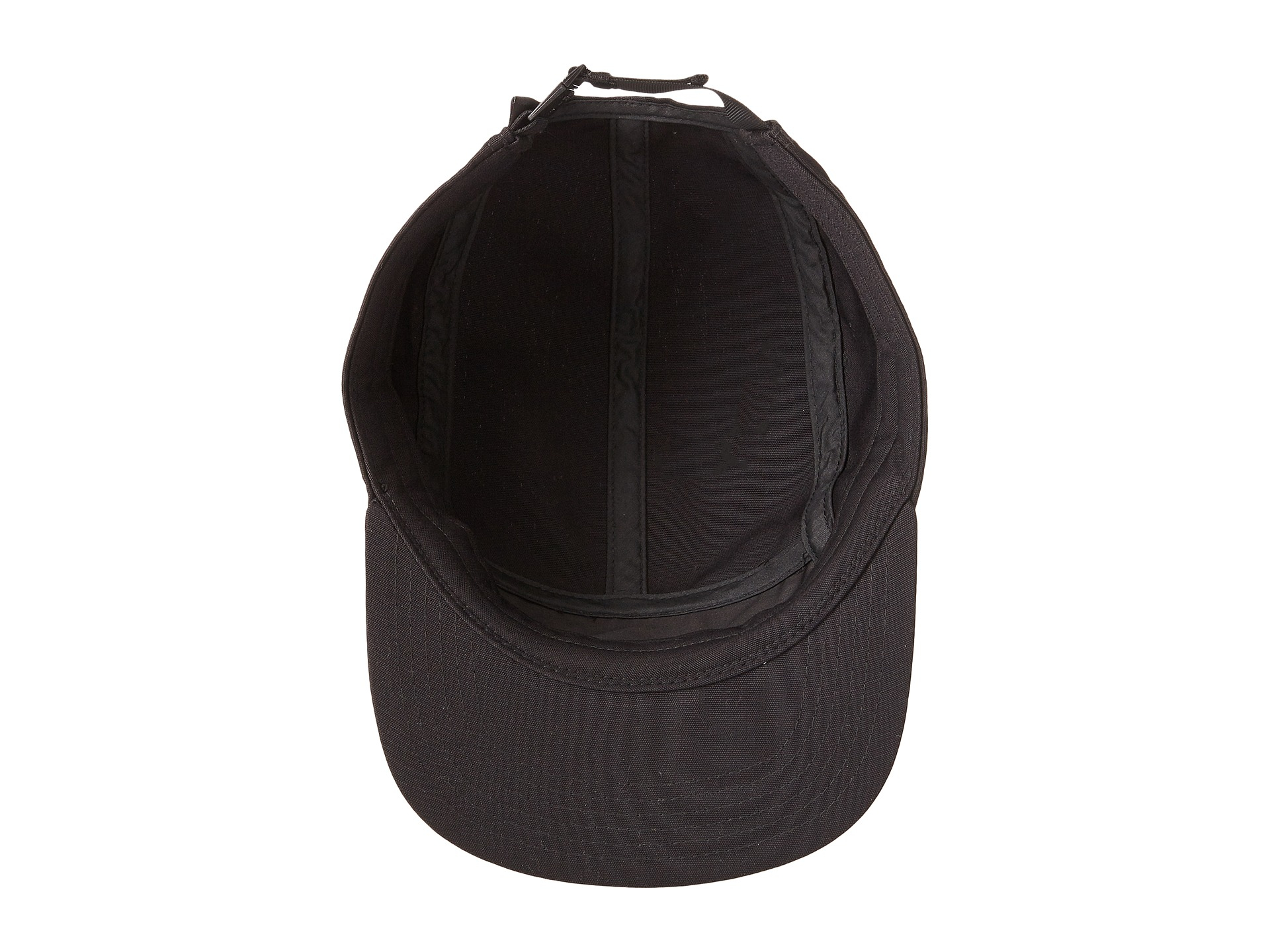 23b8eb31925 Lyst - Patagonia Retro Fitz Roy Label Tradesmith Cap in Black