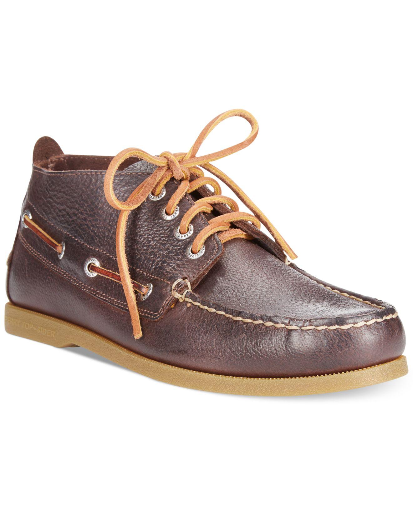 Awesome Sperry Menu00b4s Commander Chukka Boots | Dillards