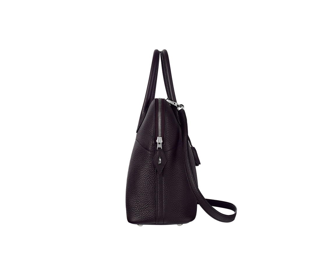 hermes evelyne bag replica - Herm��s Bolide in Black (black plum) | Lyst