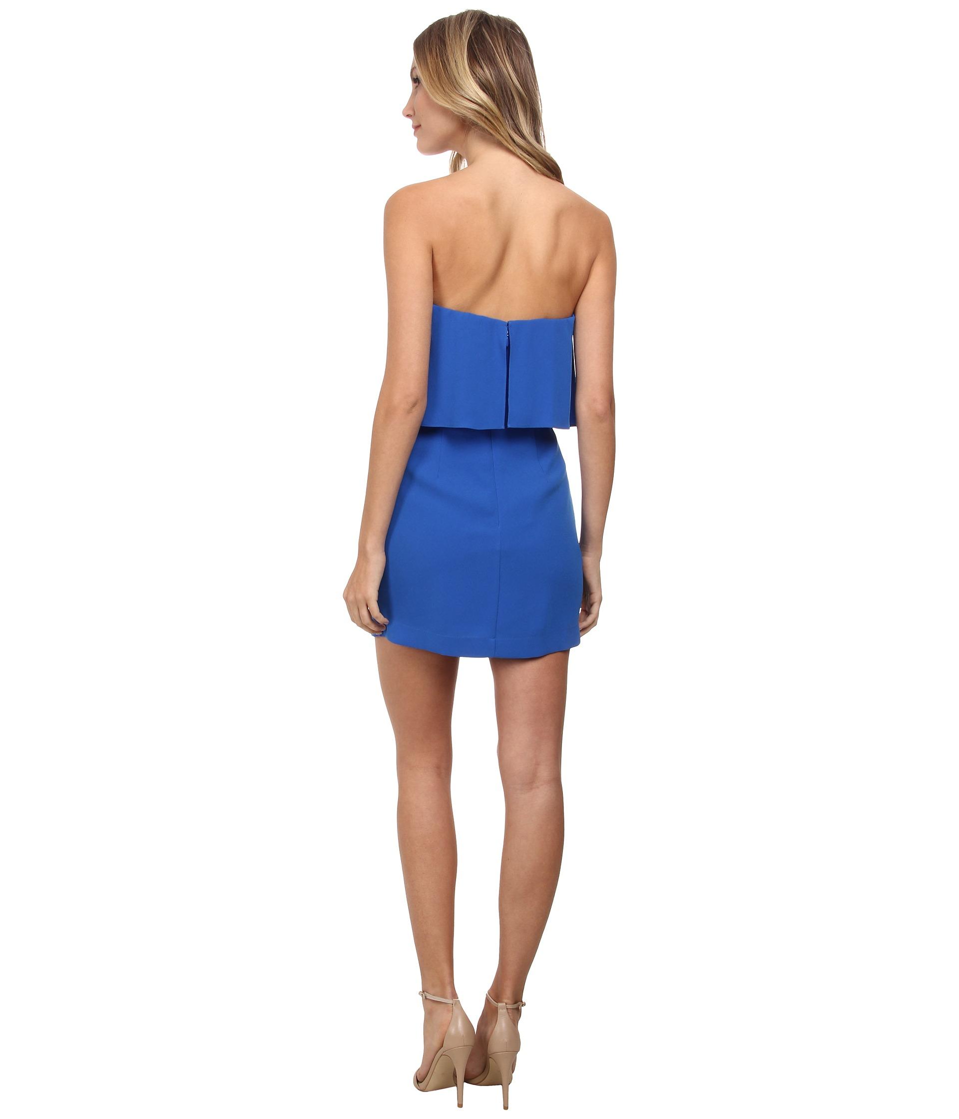 330419be684 Turmec » kate strapless overlay dress white