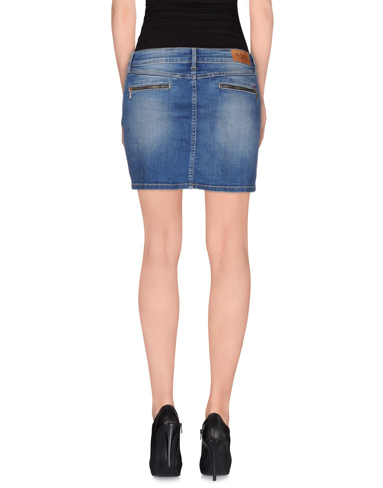 Hilfiger denim Denim Skirt in Blue | Lyst