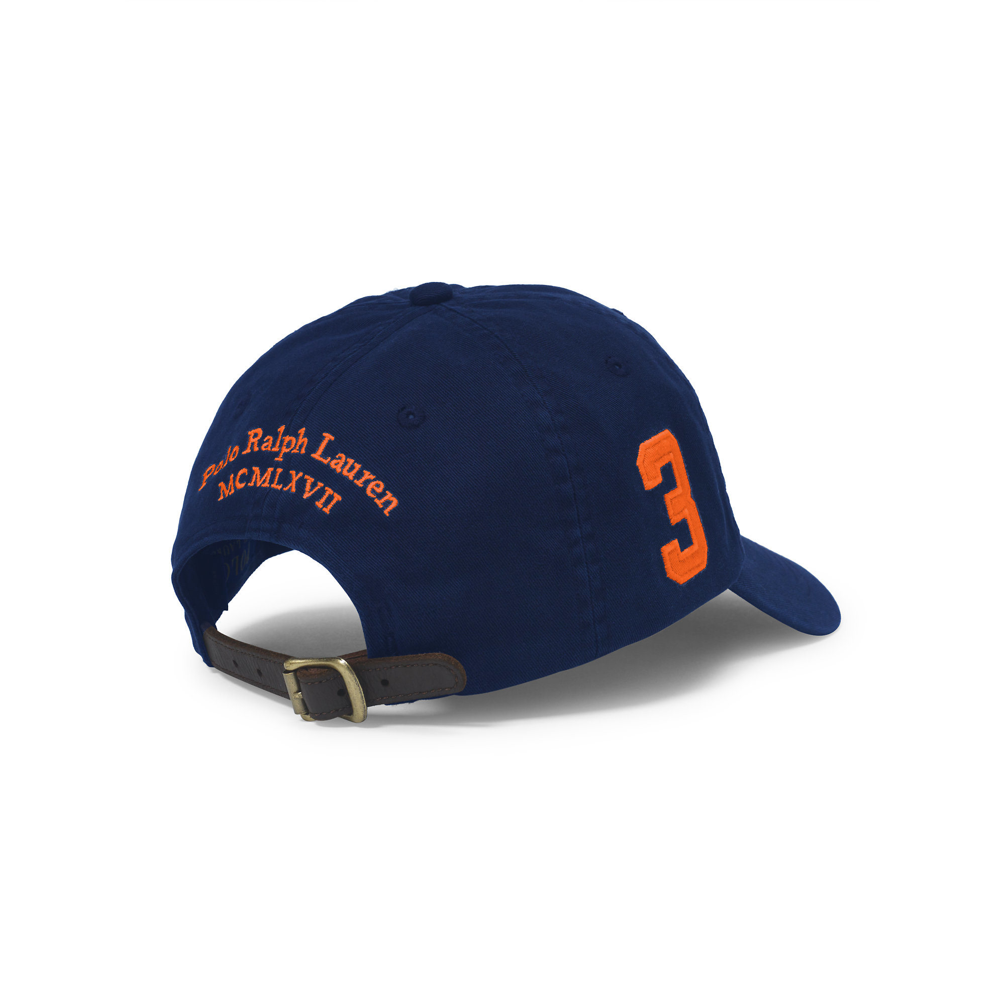 Lyst - Polo Ralph Lauren Big Pony Chino Baseball Cap in Blue for Men 0a91c5a7465d