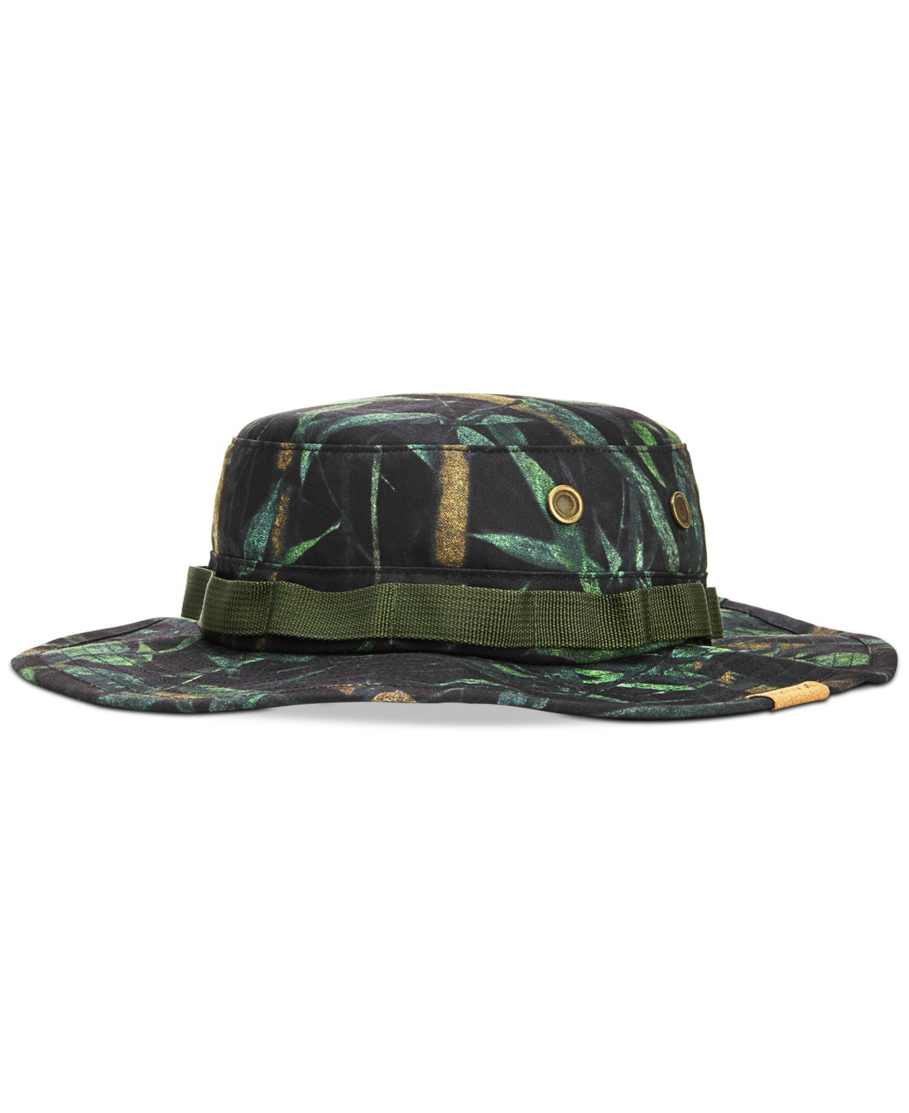 718eb98abe6 ... cheap lyst hurley safari bucket hat in green for men 773c0 7af57