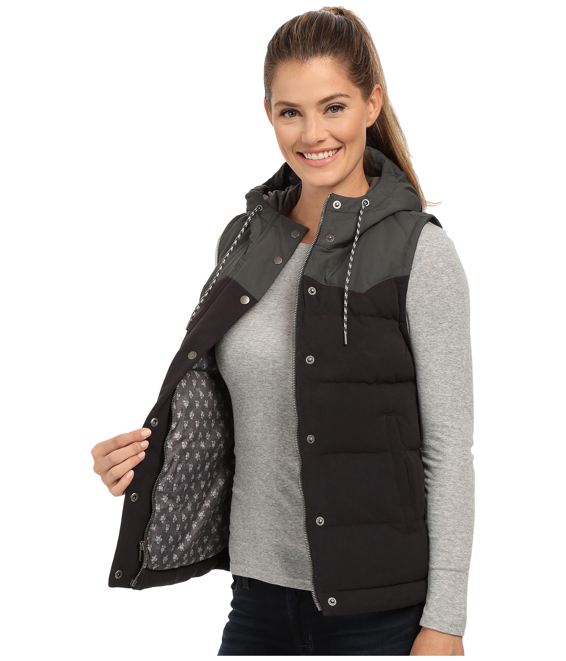 Patagonia Bivy Hooded Vest In Black