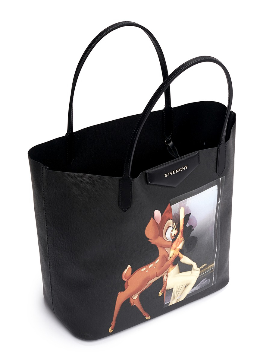 Givenchy U0026 39 Antigona Medium Bambi Print Tote