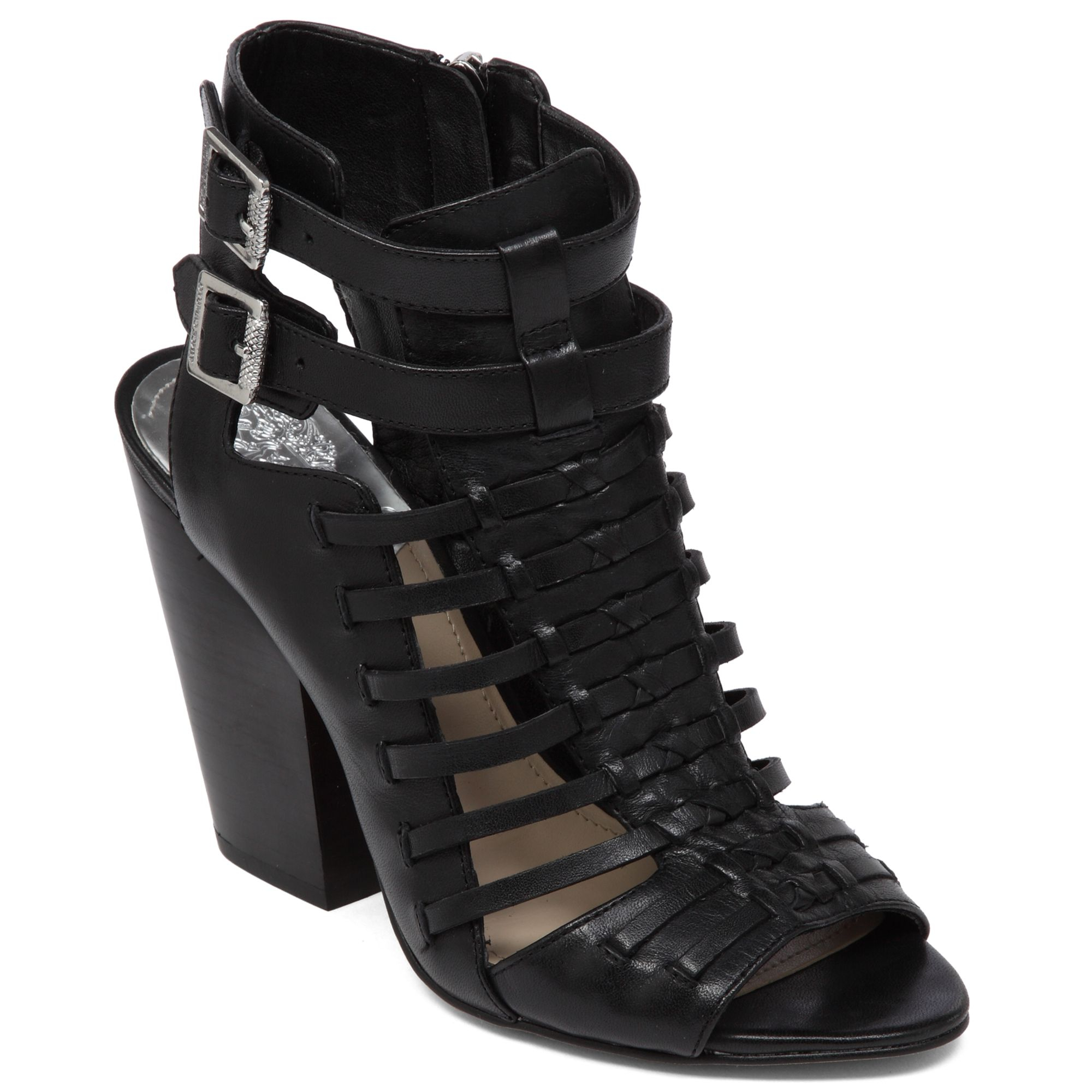 Vince Camuto Medow Gladiator Sandals In Black Lyst