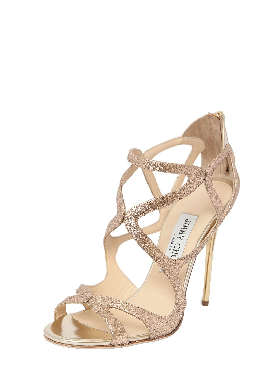 52679c8dc3f2 Gallery. Previously sold at  LUISA VIA ROMA · Women s Jimmy Choo Glitter  Women s Wedding Shoes ...