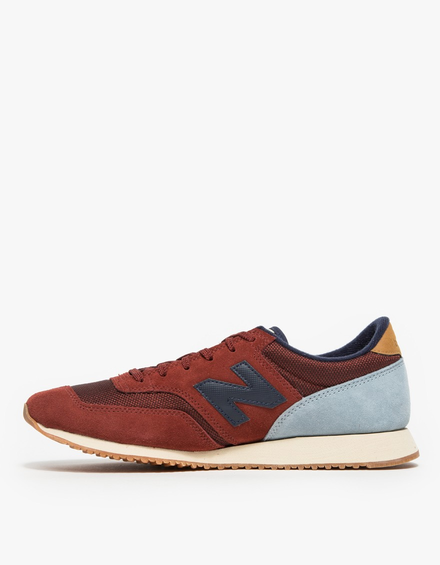 6e80a7d398fb discount lyst new balance 620 in red grey in blue c690a 18045
