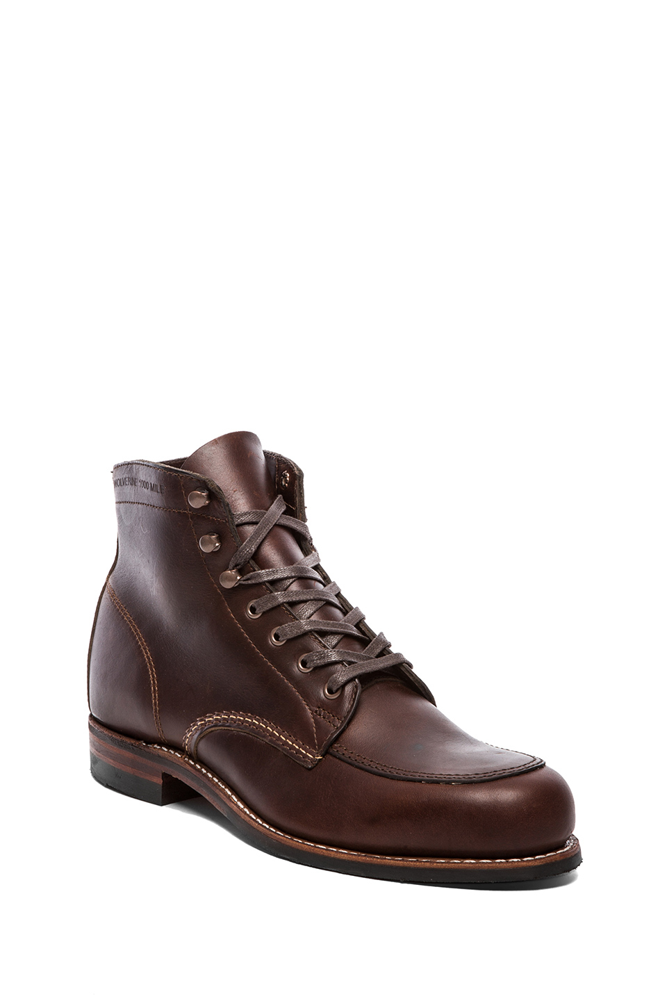 wolverine 1000 mile courtland boot in brown for lyst