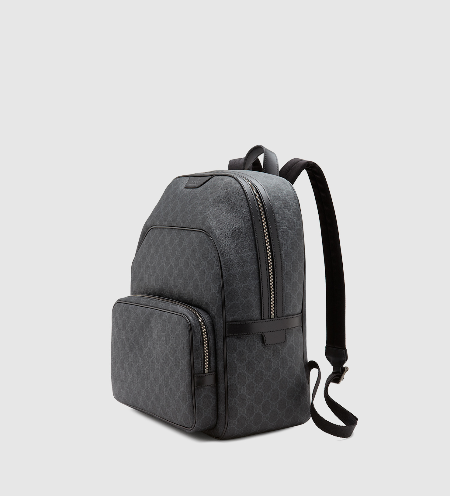 331c069dc919 ... Gucci Gg Supreme Canvas Backpack in Gray for Men Lyst
