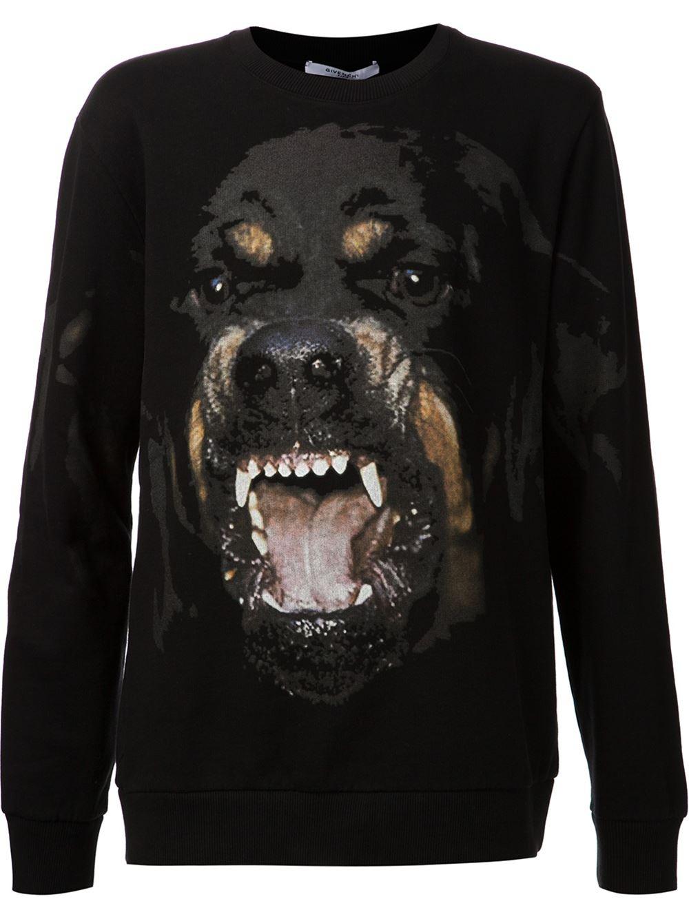 Givenchy Rottweiler Print Sweatshirt in Black for Men