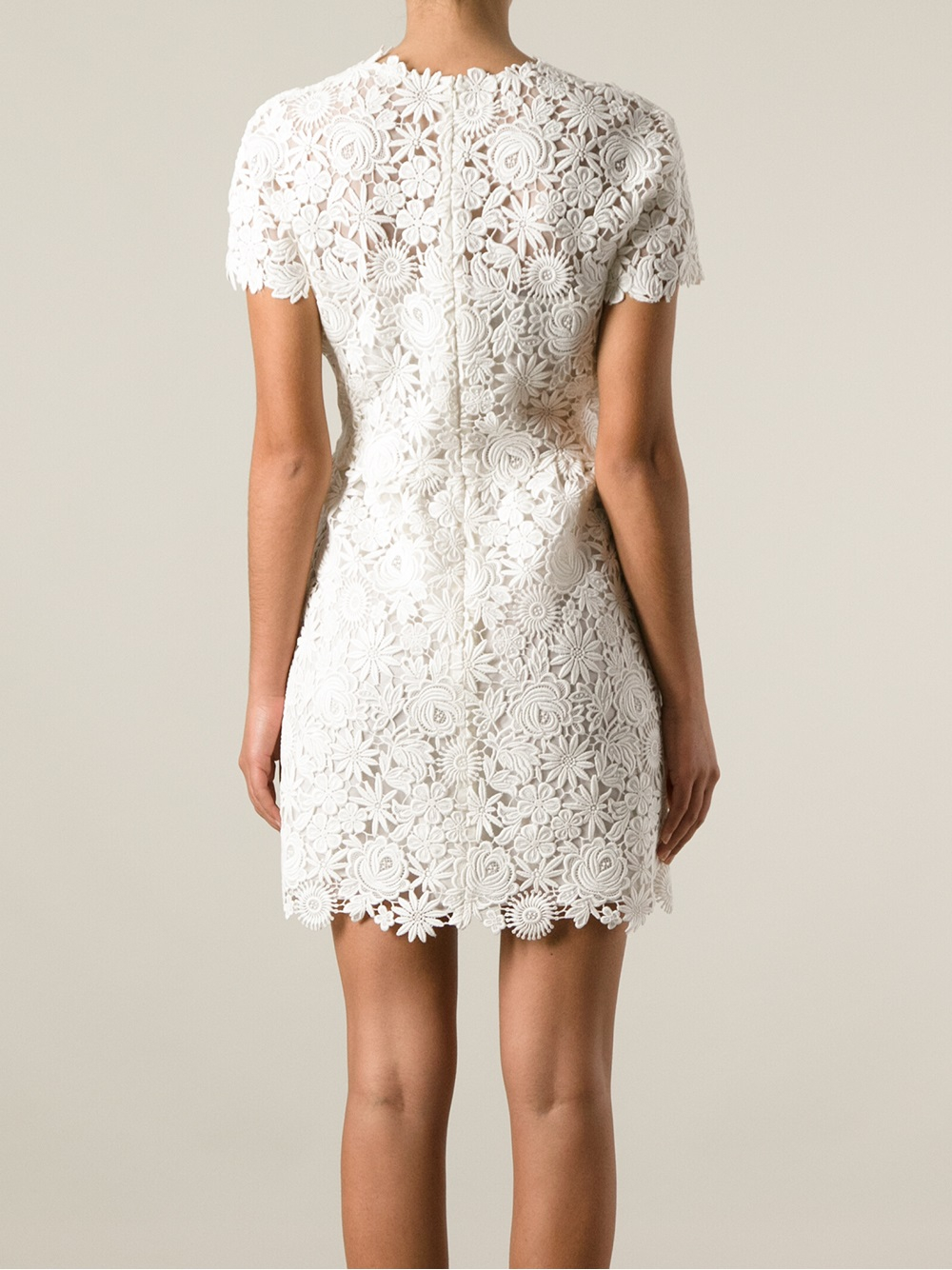 97dd25aa8f Gallery. Previously sold at  Farfetch · Women s White Cocktail Dresses