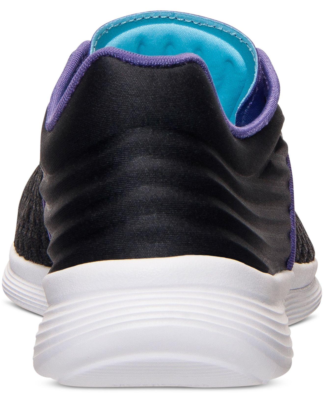 9bbcdf496ef Lyst - Reebok Women s Skyscape Fuse Walking Sneakers From Finish ...