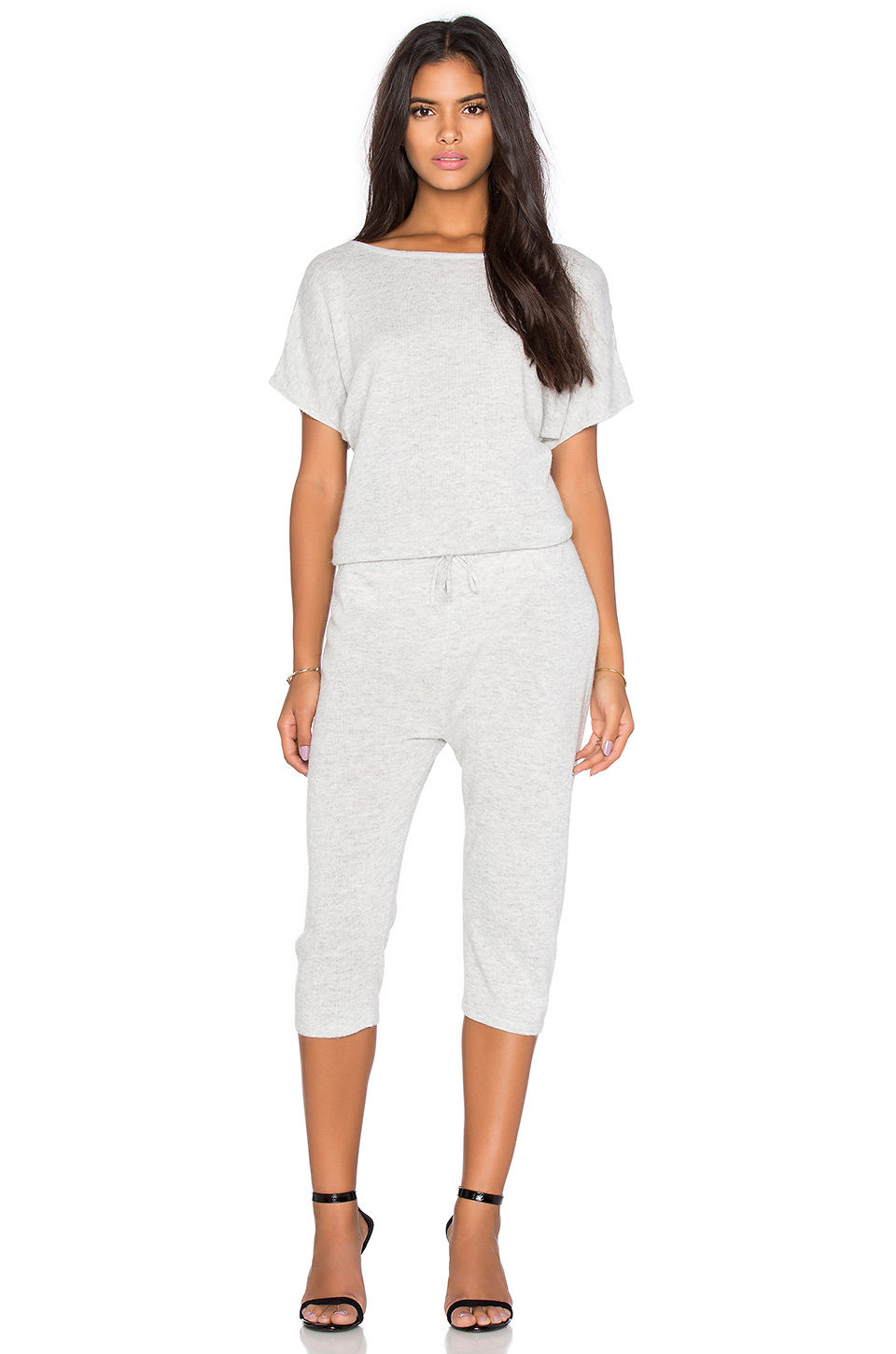 223cef8b4617 Lyst - Callahan V Back Jumpsuit in White