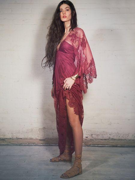 Free People Ethereal Fairytale Dress In Purple Lyst